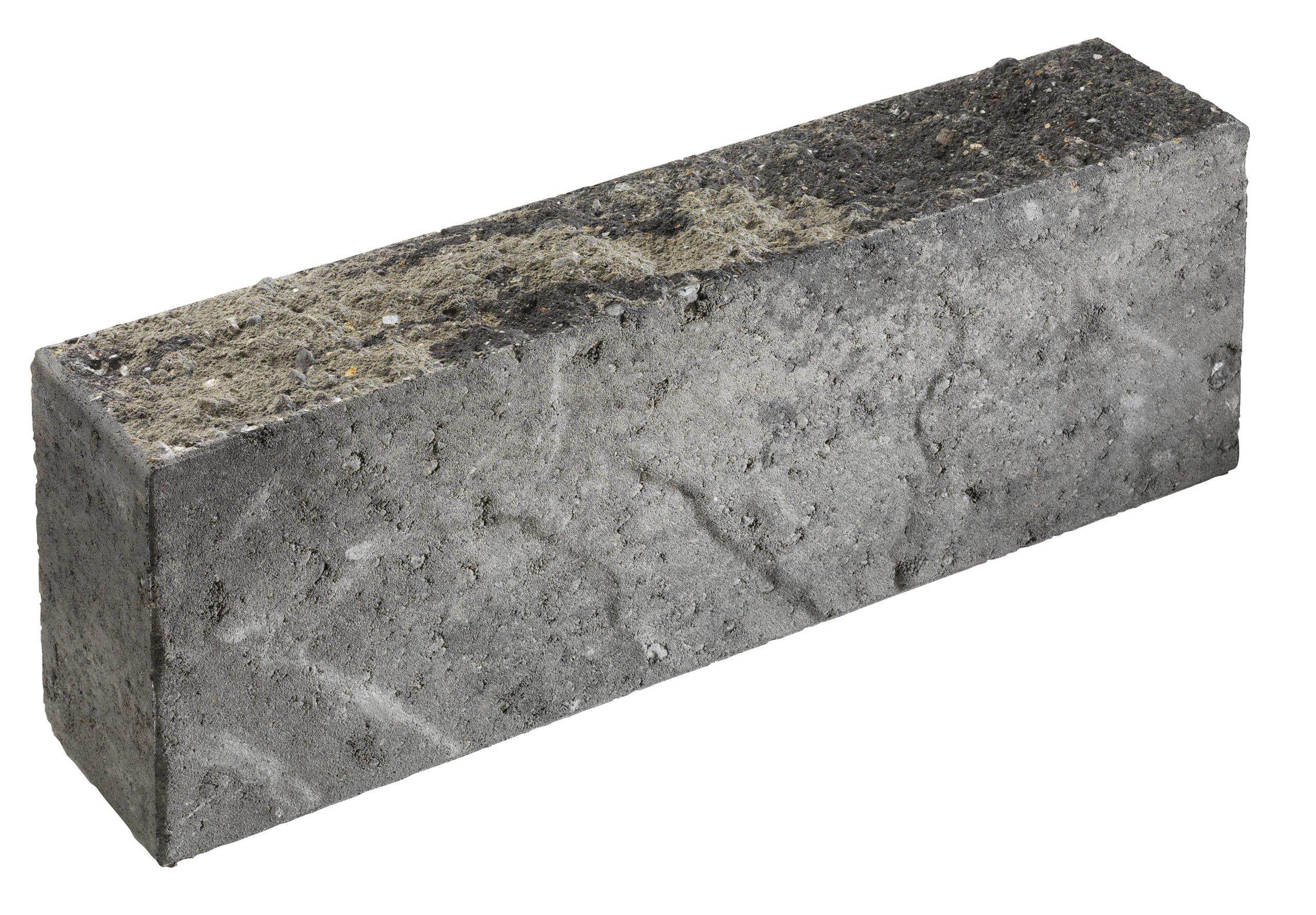 Asak Relieff kantstein gråmix