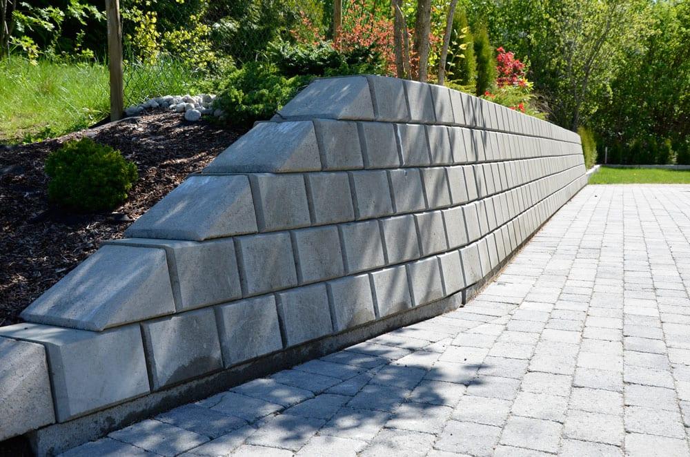 støttemur betong